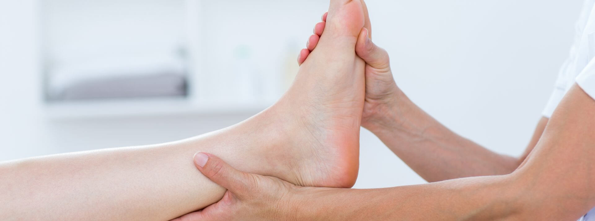 Physiotherapy for ankle pain